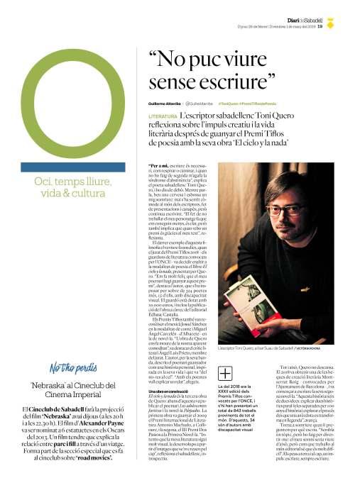 Diari de Sabadell Toni Quero