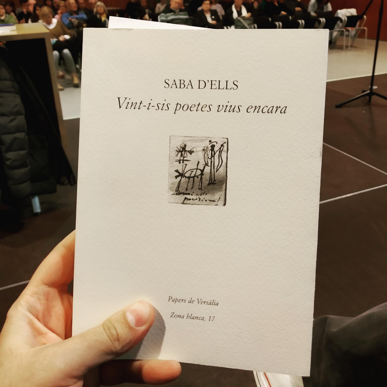 Foto presentació llibre Saba d'ells